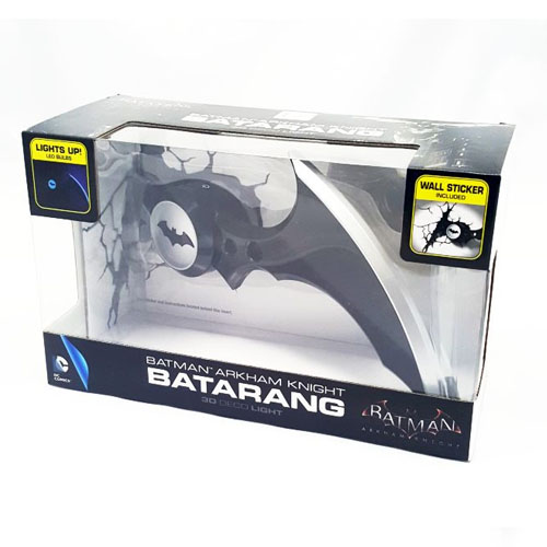 Batarang Batman Arkham Knight - Luminária 3D Light FX DC Comics 6