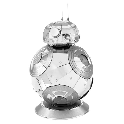 BB-8 - Miniatura para Montar Metal Earth - Star Wars