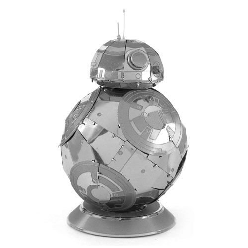 BB-8 - Miniatura para Montar Metal Earth - Star Wars 2