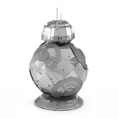 BB-8 - Miniatura para Montar Metal Earth - Star Wars 3
