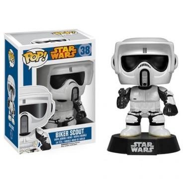 Biker Scout Stormtrooper - Funko Pop Star Wars