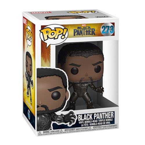 Black Panther / Pantera Negra sem Máscara - Funko Pop Black Panther 3