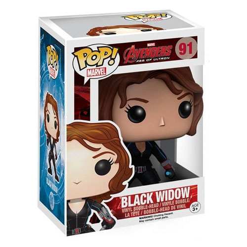 Black Widow / Viúva Negra - Funko Pop Avengers: Age of Ultron Marvel 3