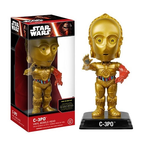 C-3PO - Bobble Head Star Wars The Force Awakens - Funko Wacky Wobbler