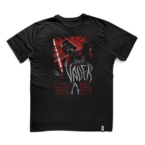 Camiseta Star Wars - Darth Vader Rock Tour 2