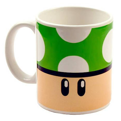 Caneca Gamer - Cogumelo Verde 1-UP 3