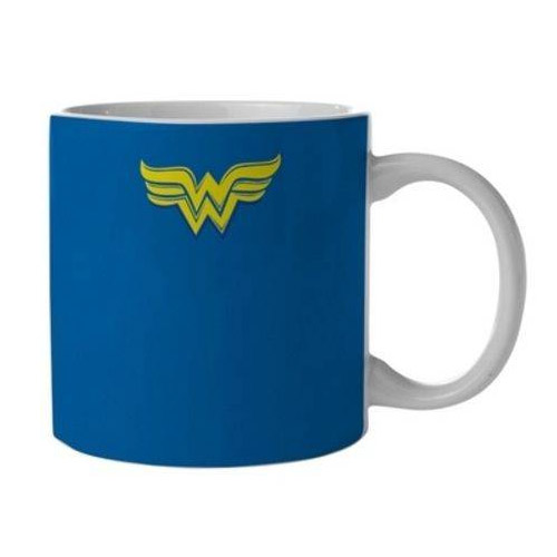 Caneca Mulher-Maravilha / Wonder Woman Azul - DC Comics 2