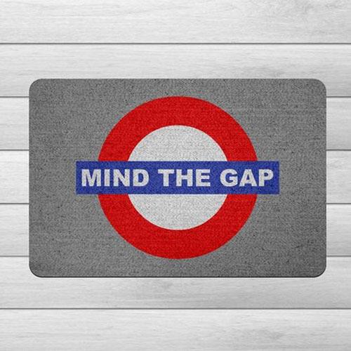 Capacho Ecológico Londres - Mind the Gap