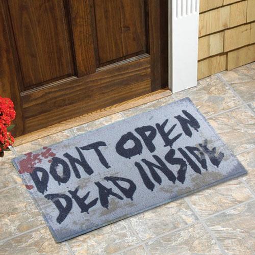 Capacho Zumbi - Dont Open Dead Inside - Walking Dead 2