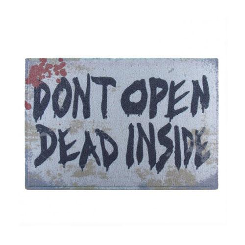 Capacho Zumbi - Dont Open Dead Inside - Walking Dead 3