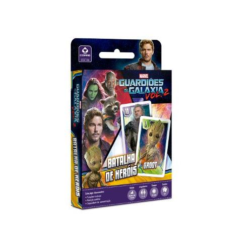 Card Game Batalha de Heróis Guardiões da Galáxia - Copag Marvel 3