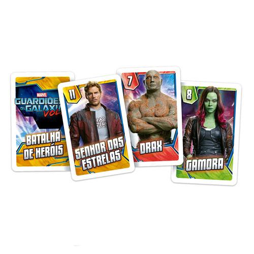Card Game Batalha de Heróis Guardiões da Galáxia - Copag Marvel 2