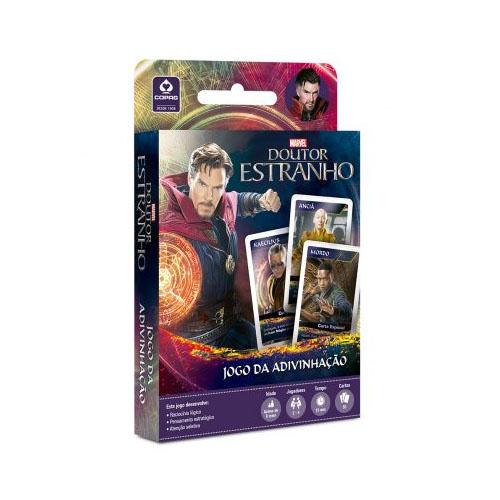 Card Game Jogo da Adivinhação Doutor Estranho - Copag Marvel 3