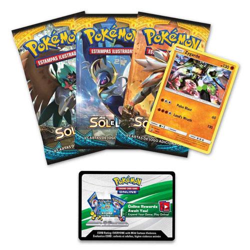 Card Game Pokemon - Zygarde Forma Completa - Coleção com Broche 2