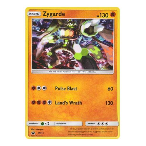 Card Game Pokemon - Zygarde Forma Completa - Coleção com Broche 3