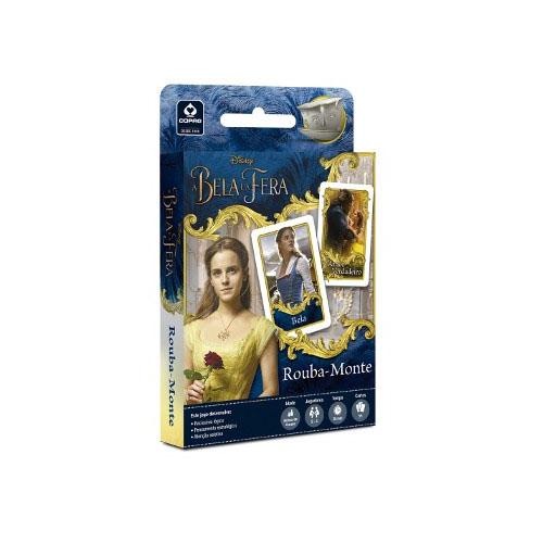 Card Game Rouba-Monte A Bela e a Fera  - Copag Disney 3