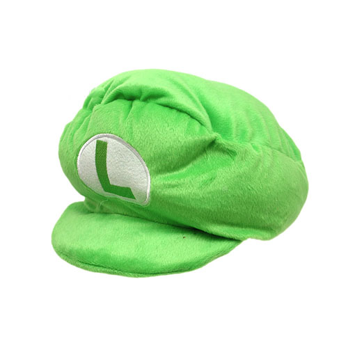 Chapéu de Pelúcia Luigi - Mario Bros - Verde 2