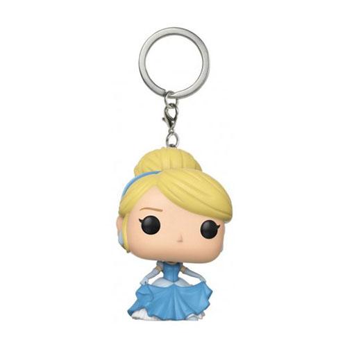 Chaveiro Cinderela - Funko Pop Pocket Disney Cinderella 2