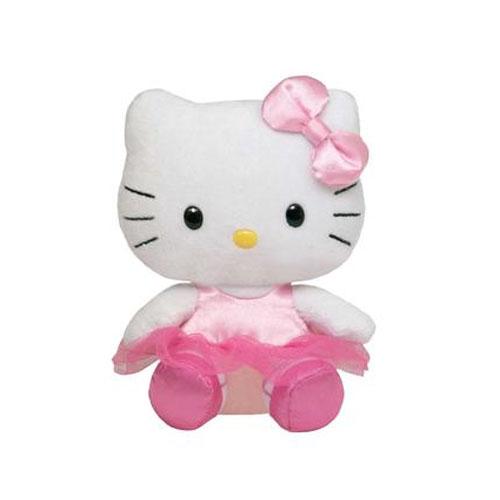 Chaveiro de Pelúcia Hello Kitty Bailarina - Beanie Babies Ty 2