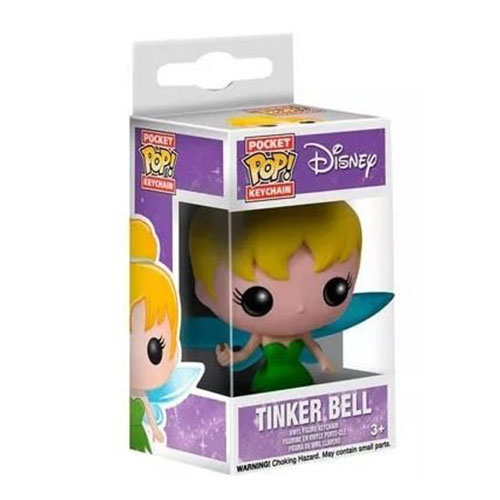 Chaveiro Fada Sininho / Tinker Bell - Funko Pop Pocket Disney Peter Pan 3