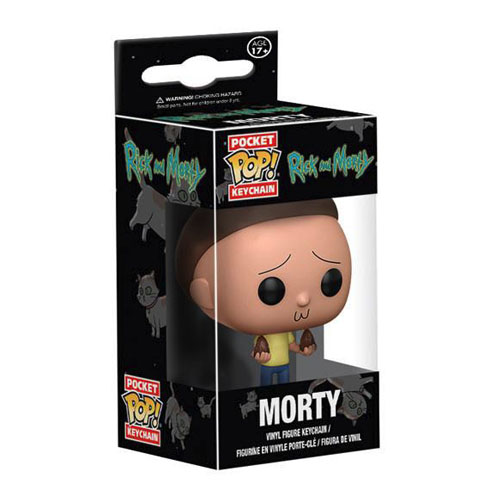 Chaveiro Morty - Funko Pop Pocket Rick and Morty 3