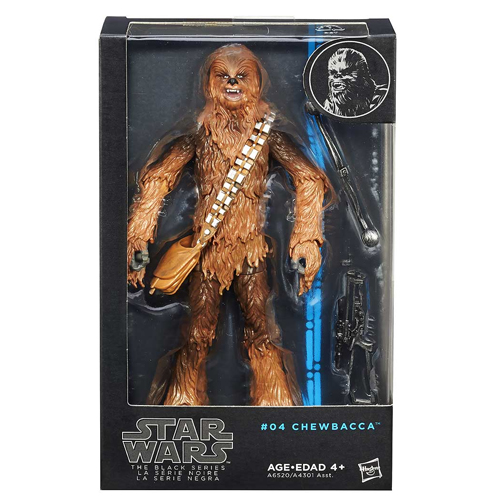 Chewbacca - Action Figure Star Wars Black Series - Hasbro 3