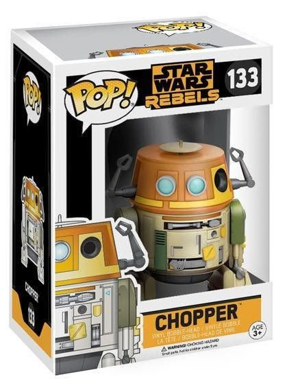 Chopper - Funko Pop Star Wars Rebels 3