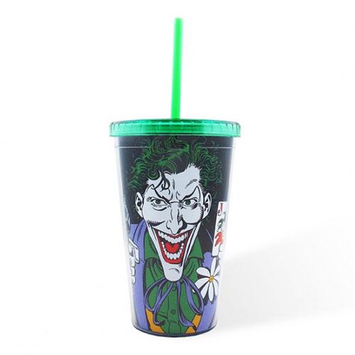 Copo com Canudo Coringa / Joker - DC Comics 3