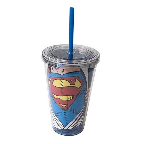 Copo com Canudo Super-Homem / Superman - DC Comics 3