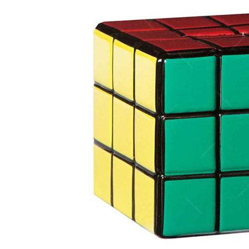 Cubo Mágico - Cofre de Cerâmica Cubo de Rubik 3