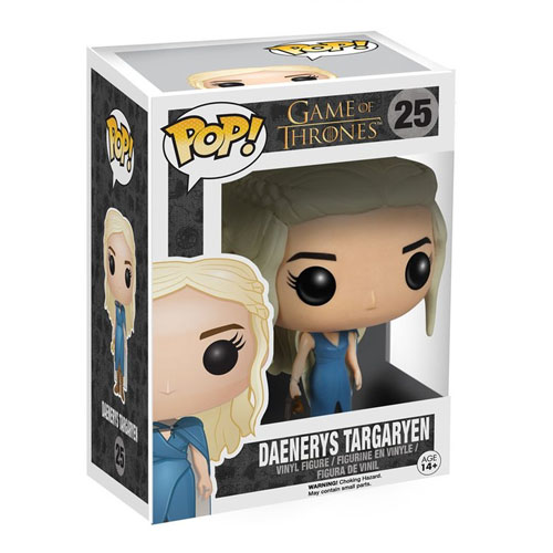 Daenerys Targaryen / Mhysa Vestido Azul - Funko Pop Game of Thrones #25 3