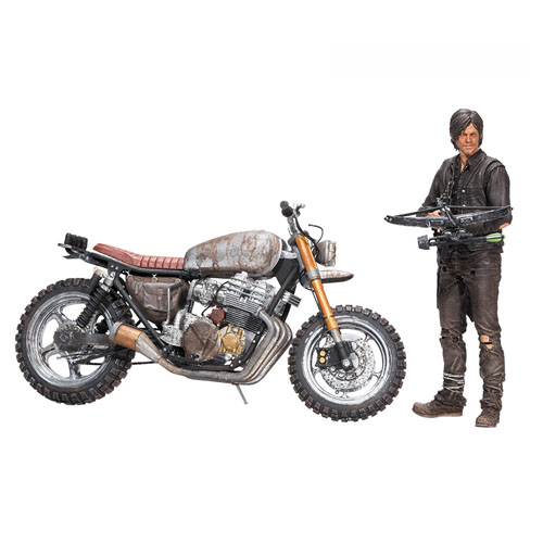 Daryl Dixon com Moto - Action Figure The Walking Dead - Deluxe Set McFarlane Toys 2