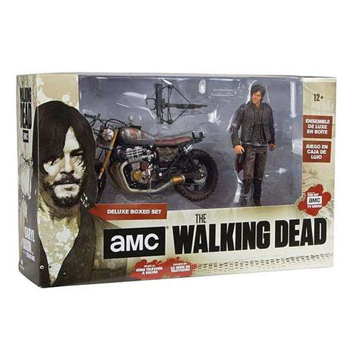Daryl Dixon com Moto - Action Figure The Walking Dead - Deluxe Set McFarlane Toys 4