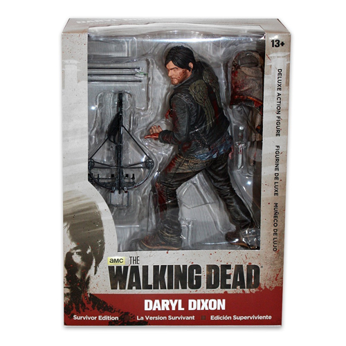 Daryl Dixon Survivor Edition - Deluxe Action Figure The Walking Dead 4
