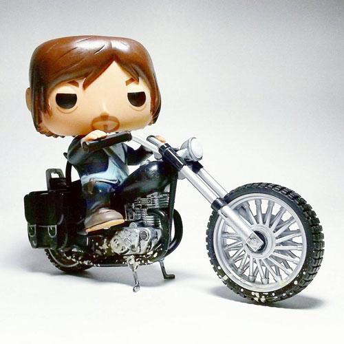 Daryl Dixon na Moto / Daryl Dixon's Chopper - Funko Pop The Walking Dead Rides 3