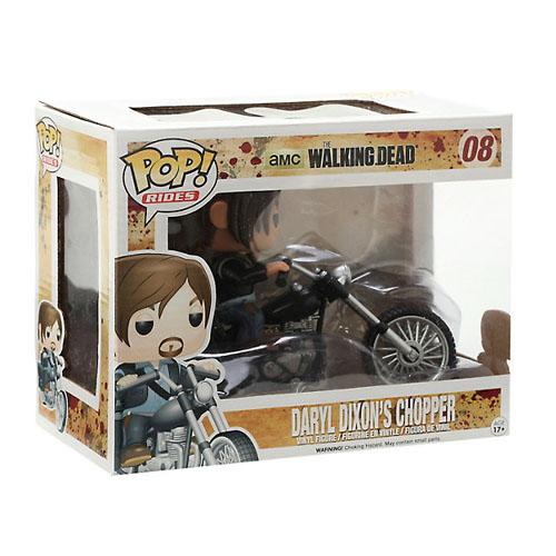 Daryl Dixon na Moto / Daryl Dixon's Chopper - Funko Pop The Walking Dead Rides 4
