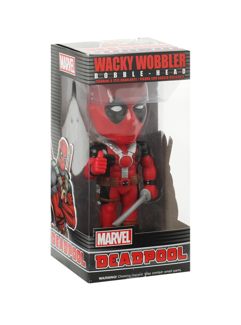Deadpool Bobblehead - Funko Wacky Wobbler Marvel 3
