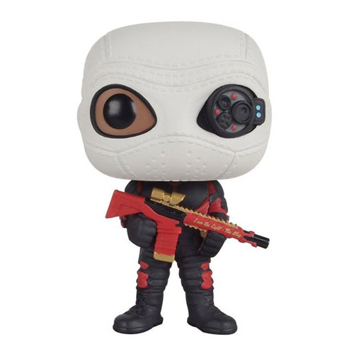 Deadshot / Pistoleiro  - Funko Pop Suicide Squad / Esquadrão Suicida - DC Comics 2