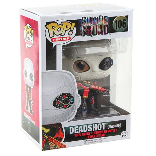 Deadshot / Pistoleiro  - Funko Pop Suicide Squad / Esquadrão Suicida - DC Comics 3