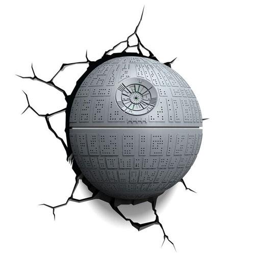 Estrela da Morte / Death Star - Luminária 3D Light FX Star Wars 3