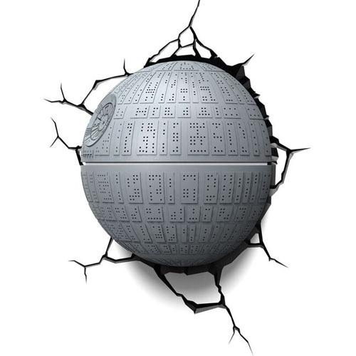 Estrela da Morte / Death Star - Luminária 3D Light FX Star Wars 4