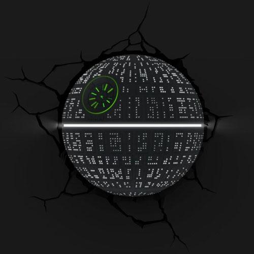 Estrela da Morte / Death Star - Luminária 3D Light FX Star Wars 2