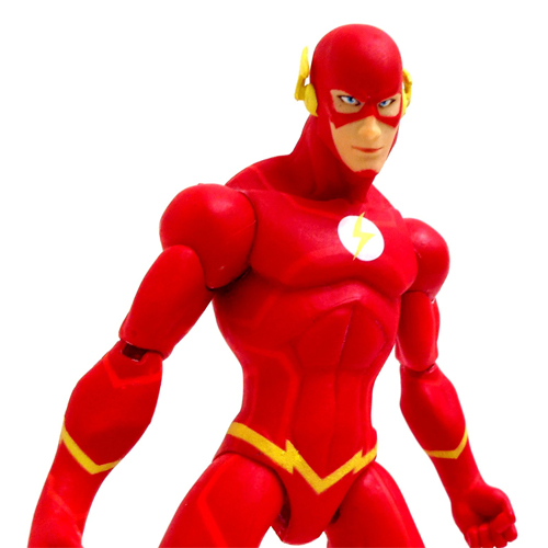 Flash - Action Figure Justice League War - DC Collectibles 3