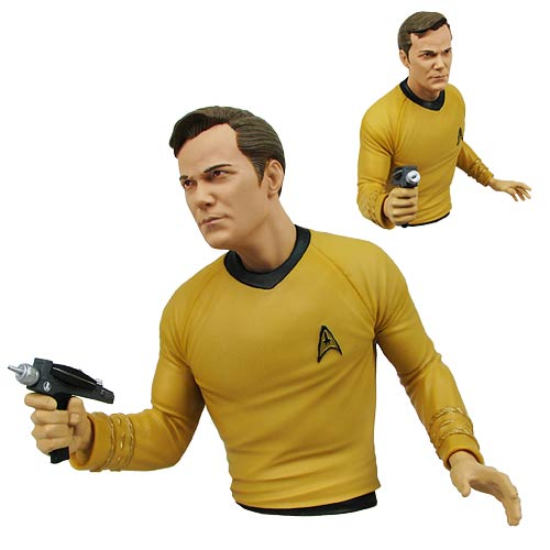 Capitão Kirk - Cofre Star Trek - Diamond Select 2