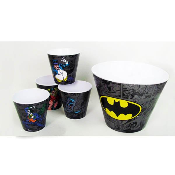Kit de Baldes de Pipoca Batman - DC Comics 3