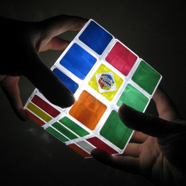 Luminária Rubik's Cube - Cubo Mágico 4