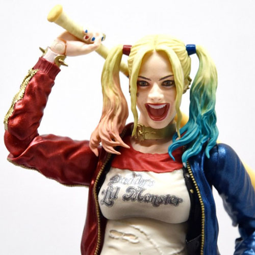 Harley Quinn / Arlequina - Action Figure Suicide Squad - Bandai SH Figuarts 6