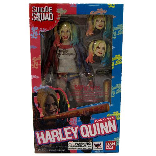 Harley Quinn / Arlequina - Action Figure Suicide Squad - Bandai SH Figuarts 8