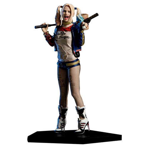 Harley Quinn / Arlequina - Esquadrão Suicida DC Comics - Art Scale 1/10 - Iron Studios