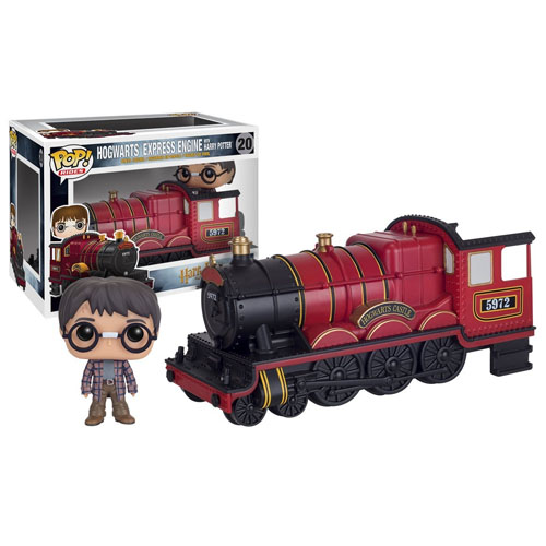 Harry Potter no Trem Hogwarts Express - Funko Pop Harry Potter Rides